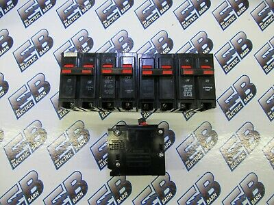 Bryant Br220 1 Lot Of 5 20 Amp 240 Volt Plug In Circuit Breaker- Warranty