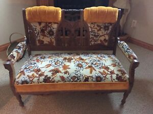 Antique 2 Seater Bench/Couch