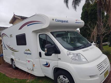 Jayco Conquest Fiat Ducato Motorhome (LOW KMS!) Erskine Park Penrith Area Preview