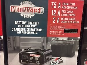 LF: Battery Charger w the 75a start feature