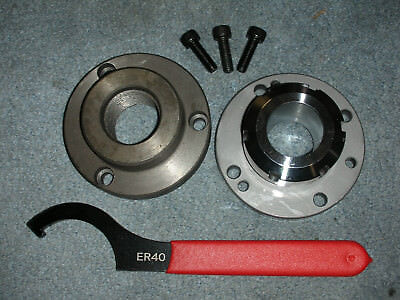 Atlas Craftsman Logan South Bend Lathe Er 40 Collet Chuck Only Wrench 1 12-8