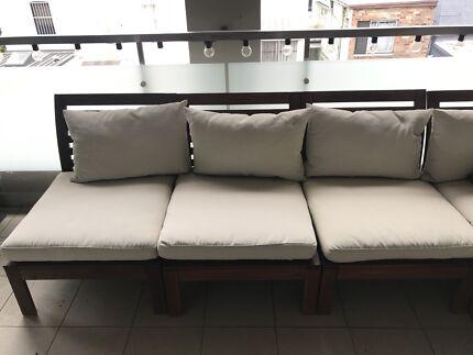 3 Ikea Applaro Chairs