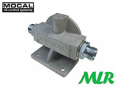 MOCAL 3/4UNF REMOTE OIL FILTER HEAD MOUNT SIERRA ESCORT RS COSWORTH TURBO ST2