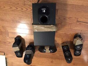 Logitech computer speakers