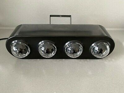 Prolight Equinox Comet LED Disco Sound Activated 4 col lighting effect in box