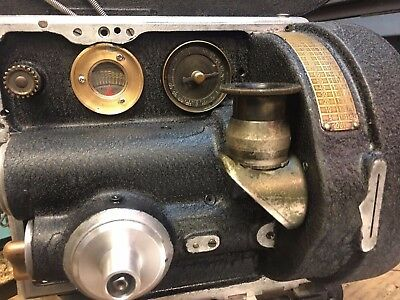 Bell & Howell 2709 B 35mm Camera Hand Cranked Lenses,Tripod, Finder more S/N905