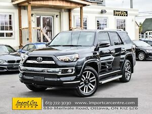 2016 Toyota 4Runner SR5 LIMITED 7 PASS LEATHER ROOF JBL WOW!!
