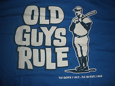 OLD GUYS RULE SLUGGER GUY