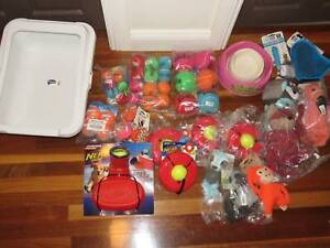 Dog Toys Balls Bowls Nerf Ball Launcher ALL BRAND NEW puppies