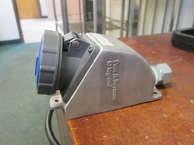 Pass & Seymour Watertight Receptacle PS320R6-W 20A 250V 2P 3w Used