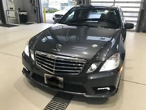 2010 MERCEDES BENZ E350 4MATIC Sedan