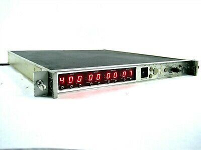 Datum 9300 Assy 9300-7441 Test Time Code Generator Translator Rack Mountable