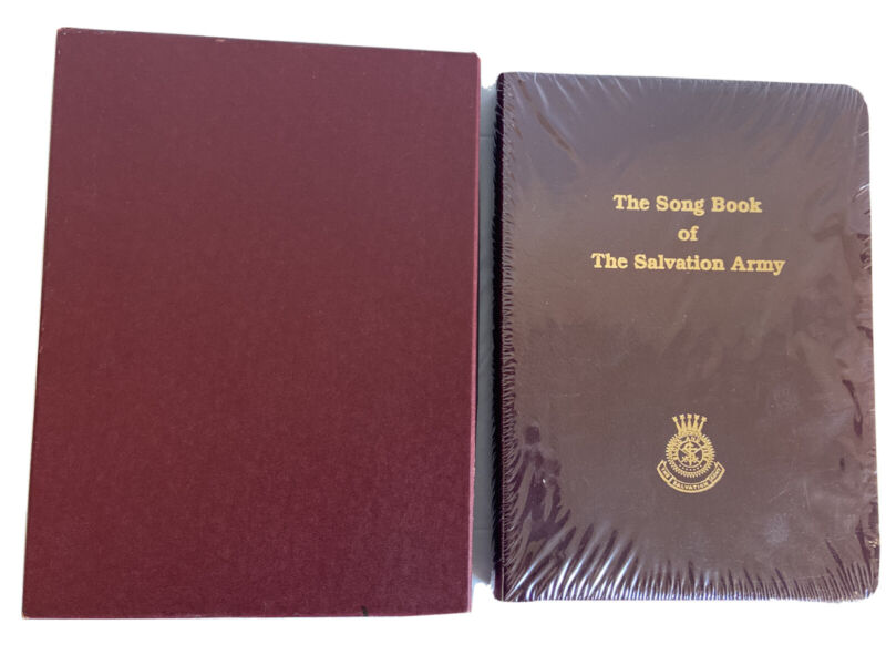 THE SONG BOOK OF THE SALVATION ARMY Bonded LEATHER