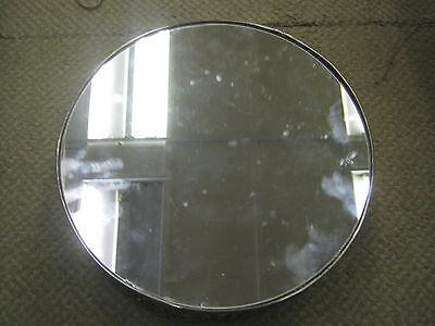 Silver Plate Desk Mirror