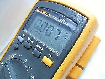Compact Clean Fluke 112 True Rms Digital Meter Test Leads Full Function Dmm