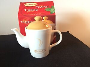 Tim Hortons 2 Cup Teapot NEW IN BOX
