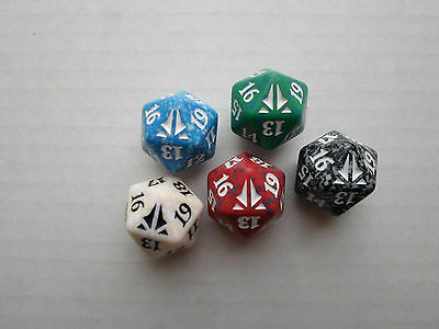 Oath of the Gatewatch Spindown Counter Set of 5 colors