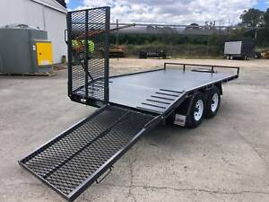 Moffett Forklift Trailer 4.5 TON Tailgater Flat Top Plant Trailers Yass Yass Valley Preview