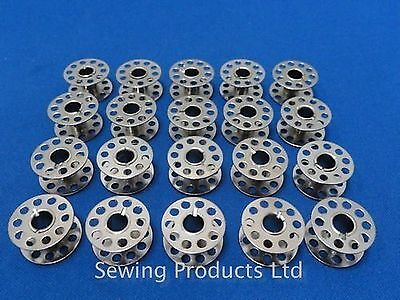 20 Metal High Quality Domestic Sewing Machine Bobbins WILL FIT, BROTHER,TOYOT... Brother Sewing Machine Bobbins