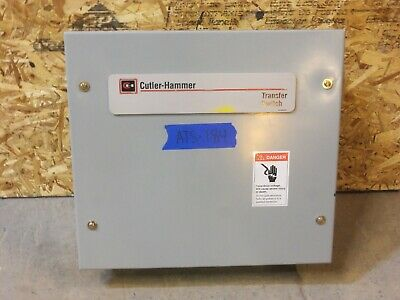 Cutler Hammer 30 Amp Ats Automatic Transfer Switch 240v120v 1 Single Phase