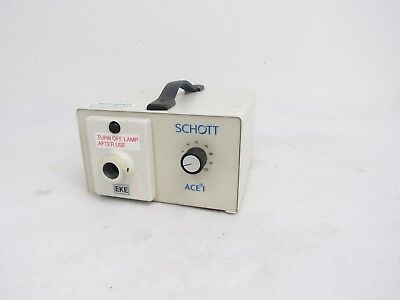 Schott Ace 1 Fiber Optic Light Lamp Source 20500 D2