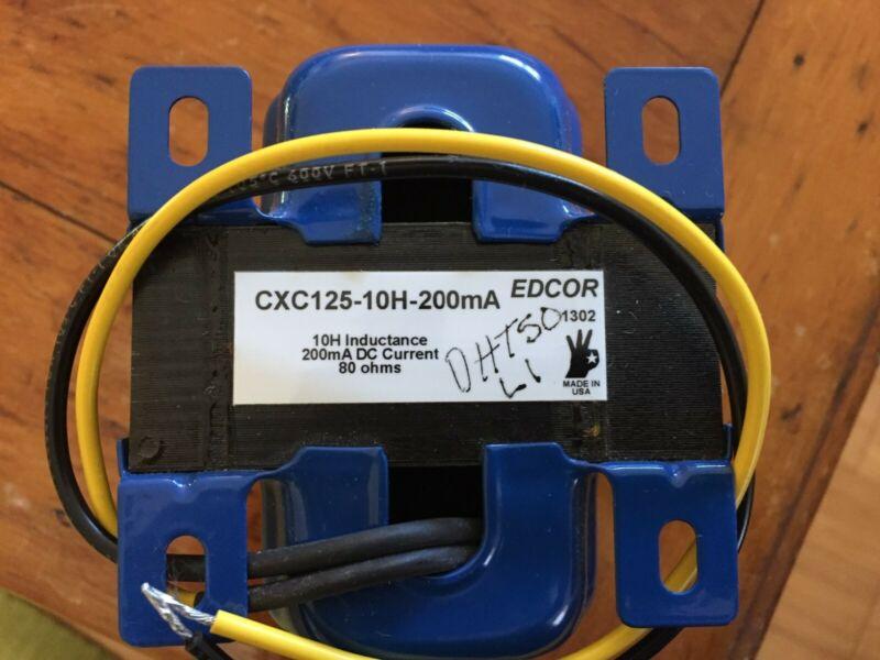 Choke 10H at 200mA DC Tube Amp Choke CXC125-10H-200mA Edcor