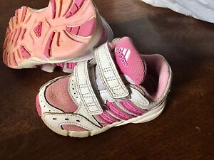 Toddler size 5 Adidas sneakers