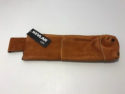 Kevlar Leather Electrode Welding Rod Holder Belt Pouch Safety Fire Cut Resist