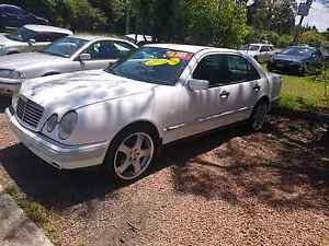 Mercedes 240 white 4 door Automatic Tuggerah Wyong Area Preview