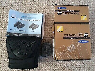 Nikon Travelite EX 8x25CF Binoculars
