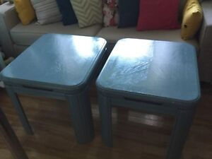 Soft jade side tables- 1 available