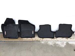 VW Golf MK6 5Dr Weathertech Laser Fit Mats  SET OF FOUR