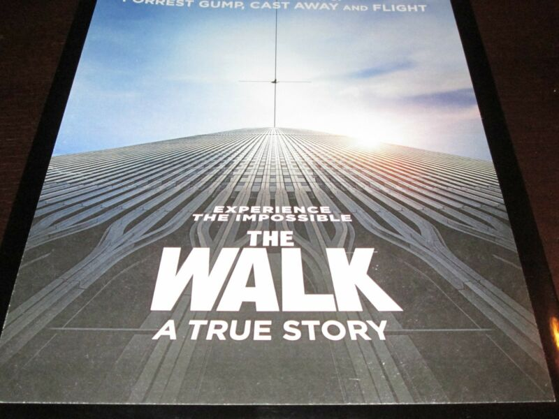 THE WALK A TRUE STORY PRESS KIT 8X10 COLOR PHOTOS RARE  JOSEPH GORDON-LEVITT