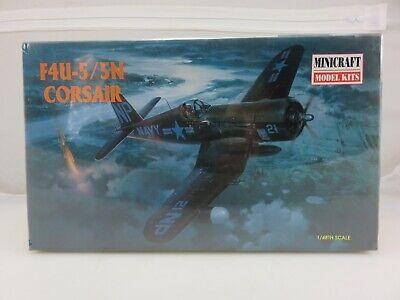 Minicraft F4U-5/5N CORSAIR 1/48 Scale Plastic Model Kit 11617 Sealed 1997