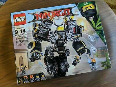 LEGO Ninjago Movie Quake Mech 70632 — *New, Retired Product""