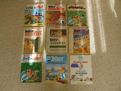 Asterix Books French German Language