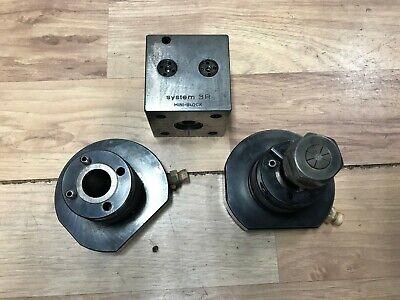 System 3r Tool Lot . Electrode Holder 20mm Mini Block