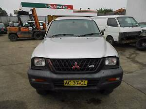 MITSUBISHI TRITON MK D/CAB UTE 2004 WRECKING VEHICLE S/N V6809 Campbelltown Campbelltown Area Preview