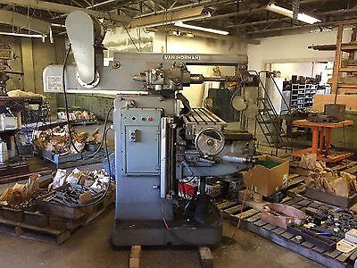 Milling Machine Horizonal Or Vertical Van Norman Excellent Condition