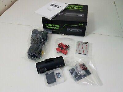 Thinkware Dash Cam F50 + 8GB MicroSD Memory Card