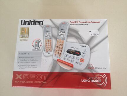 Digital Cordless Phone System - new