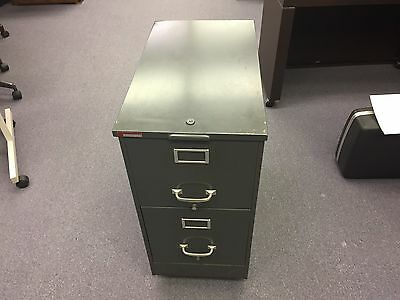 2 Drawer Rolling Filing Cabinet 14 12w X 25 12d Rolling File Cabinet Old