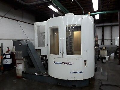 Kitamura Hx-400if Horizontal Mill 2005 Full 4th Axis Fanuc 16imb 13k Rpm 150atc
