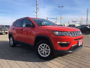 2018 Jeep Compass Sport*DEMO W/ONLY 4800 KMS
