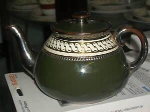 VERY OLD ENGLISH TEA POT,,, CIRCA 1909 Cooks Hill Newcastle Area Preview