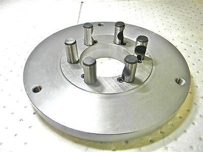 Buck Chuck Mounting Plate For 12 Self Centering Scroll Chuck D1-6 Mt A100360000