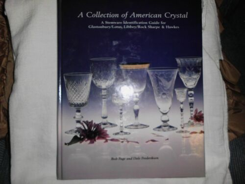 A Collection of American Crystal Price Guide by Page & Frederiksen 1995