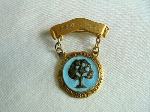 Vintage 1954-1955 National Congress of Parents and Teachers Lapel Pin