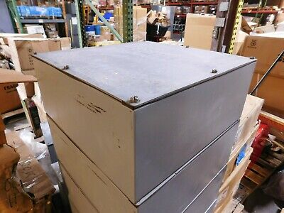 Hoffman 20 X 20 X 8 Steel Gasketed Waterproof Electrical Enclosure