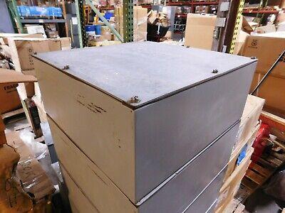 Hoffman 20 X 20 X 8 Steel Gasketed Waterproof Electrical Enclosure